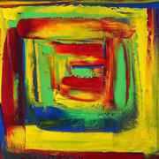 Irish art. Inner Sanctuary No5, artist Adrienne Finnerty, Louth
