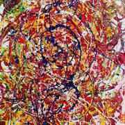 Irish art. War Is Waged, artist Adrienne Finnerty, Louth