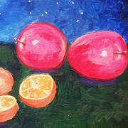 Fruit Under a Starry Sky