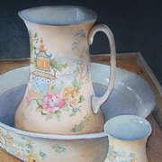Wash bowl and Jug