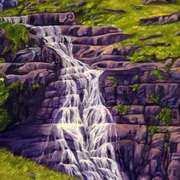 Annascaul Waterfall