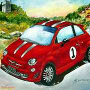 Fiat Abarth in Tusdany