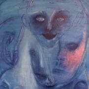 Irish art. Crowded Mind, artist Anne Finnegan, Meath