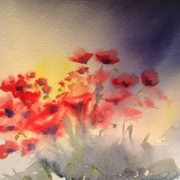 Irish Art, Poppy Breeze,