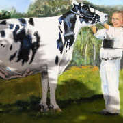 Irish Art, Holstein Freisan,