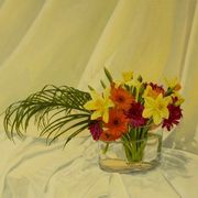 Irish Art, Crazy Daisies and Dancing Daffs,