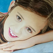 Portrait of Nyah (Angel Eyes)