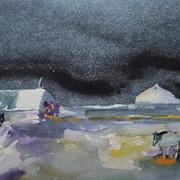 Starry Night, Gobbins, Islandmagee