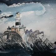 Storm At The Maidens, Irish Sea