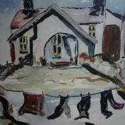 Washday At Whitehead, Co Antrim