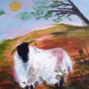 Sheep in the Landscape