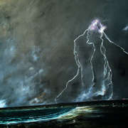 lighting strike inish more aran islands
