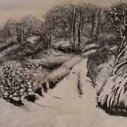 Glencoagh in Snow, Donegal