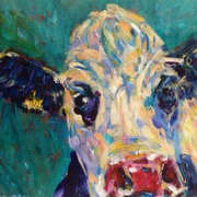 Irish Art, Nosey Cow,