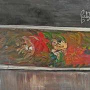 Irish art. Azure Poppy, artist Brian Buckley, Cork