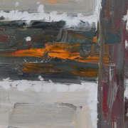 Irish art. Glide Orange, artist Brian Buckley, Cork