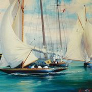 Irish Art, 6 Metre with Imperial Yacht,