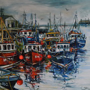 Trawlers At Dunmore