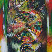 Irish art. Ethereal Planes Celestial Cycles, artist Caitriona Sheedy, Clare