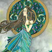 Aine - Irish Goddess (Lady of the Lake)