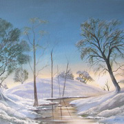 Art 'First Snowfall'