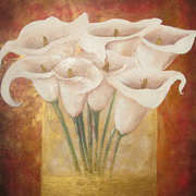 Irish Art, Bunch of Lillies,