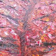 Irish art. Cherry Tree, artist Claire Lyons, Dublin and Galway