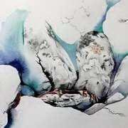 Connemara Exposure, Watercolor