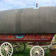 Open Lot Barrel Top Wagon
