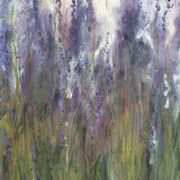 Art 'Ile de Re, Lavender, III'