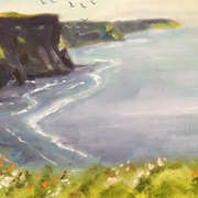 Irish Art, Cliffs of moher,