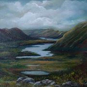 Art 'Ladies View Killarney'