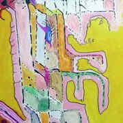 Irish art. Petrified, artist Eido, USA