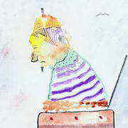 Irish art. Pop Goes My Future, artist Eido, USA