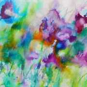 Irish Art, Papaver Purples In Spain,