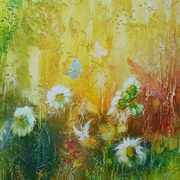 Irish Art, Wildflower garden,