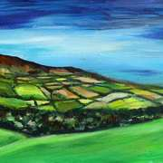 Art 'Emerald Fields'