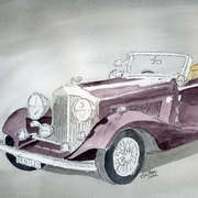 Bentley Drophead 1934