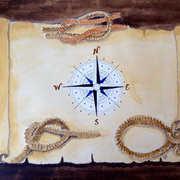 art, Nautical, artist Eva-Marie Ason, Sweden and Dublin
