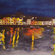 Irish Art, Night Lights - The Long Walk,