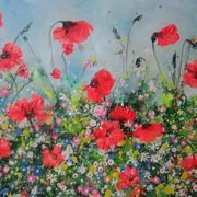 Art 'Popping Poppies'