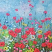 Irish Art, Poppy Dance,