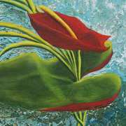 Irish Art, Anthurium,