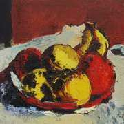 Art 'Bowl of Fruit after Roderic O'Connor'