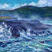 'Atlantic Turbulence, Clogher, Dingle Peninsula'