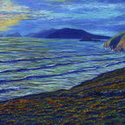 Irish Art, Dunquin Coast Viewing Blasket Islands,