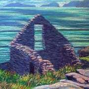 Dunquin Ruin and Blasket Islands