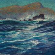 Inis Tuaisceart and Stormy Sea