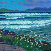 Irish Art, On Beal Ban Beach,