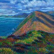 On the Ridge of Great Blasket Island